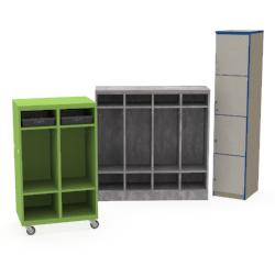 REplay® Mobile & Modular Lockers